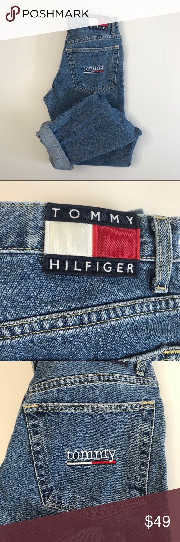 Tommy Hilfiger Mom high waisted jeans Sz 5 The Original