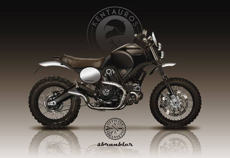 Ducati Scrambler by Kentauros