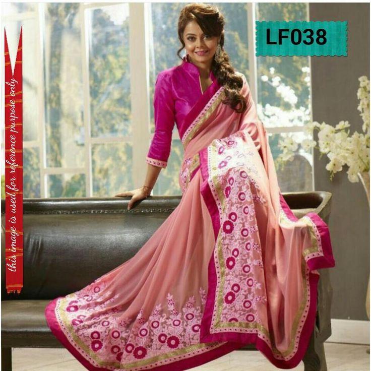 Partywear Wedding Bollywood Dress Pakistani Indian Sari Designer Saree Ethnic #TanishiFashion #DesignerSaree