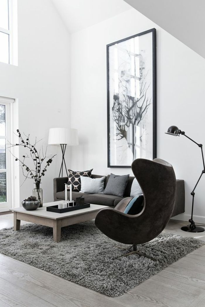 Scandinavian interior design inspiration. Lots of wood and white.