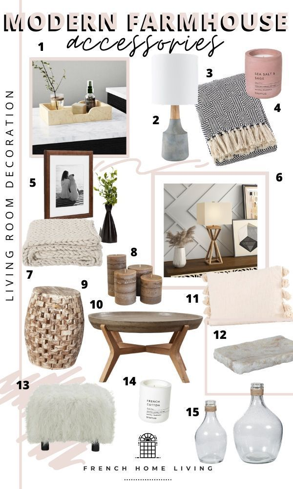 Modern Farmhouse Accessories Living Room Entryway Favorite Items 20 Of Our Favorite M In 2020 Farmhouse Chic Living Room Farm House Living Room Cozy Guest Rooms