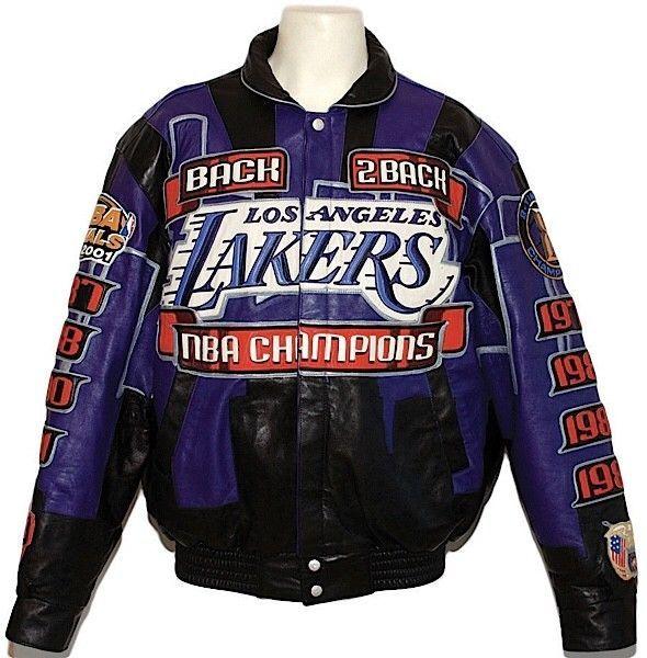 Los Angeles Lakers 2000 2001 Championship Jacket Lakers Jackets Fan Apparel