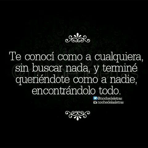 Te Quiero Como A Nadie mas ! ♥  LO INESPERADO ES UNICO♥