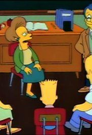 Simpsons Bart Gets An F Watch Online. Mrs. Krabappel becomes fed up with Bart's lackadaisical approach to his studies. After he bluffs his way through a book report and fails a history exam, she gives him an ultimatum: shape up or repeat the fourth grade.