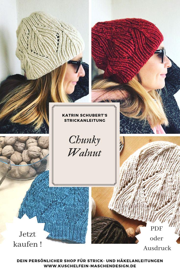 Strickanleitung Chunky Walnut von Katrin Schubert