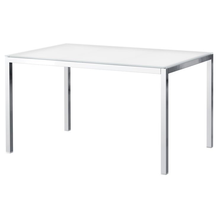 TORSBY Table chrome plated glass white : ea2d451dcb45e495087418390372f23a from pinterest.com size 736 x 736 jpeg 13kB