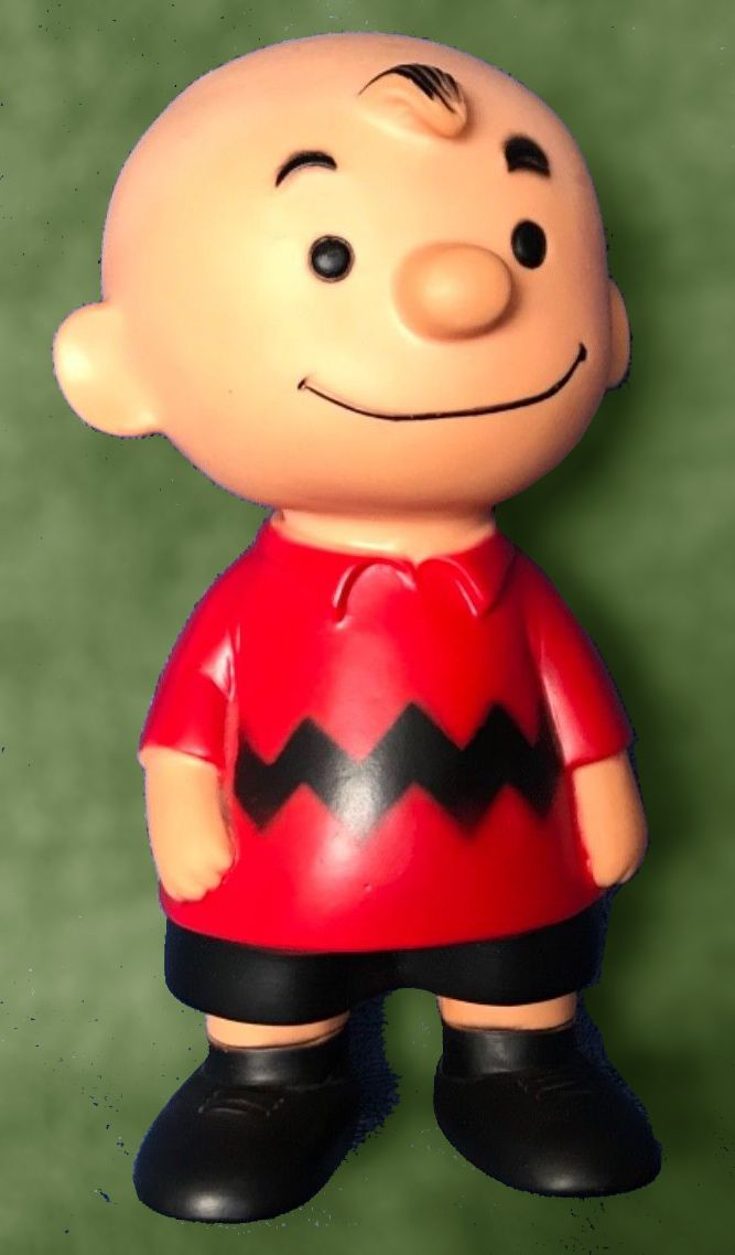 An Early Charlie Brown Vinyl Doll 1958 Peanuts C United Features Syndicate And By Hungerford