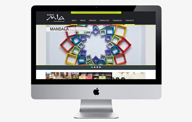 Diseñamos y desarrollamos el sitio web y catalogo digital para Casa Mia by Fernando Mayer, con una fuerte identidad de marca presenta productos y tendencias. // www.casamia.cl