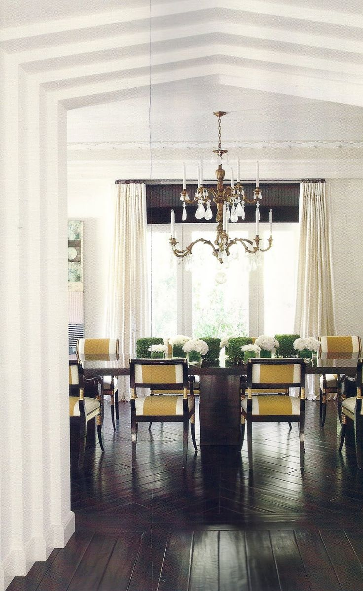 Modern traditional dining room - Modern Traditional La Dining Room Richard Hallberg