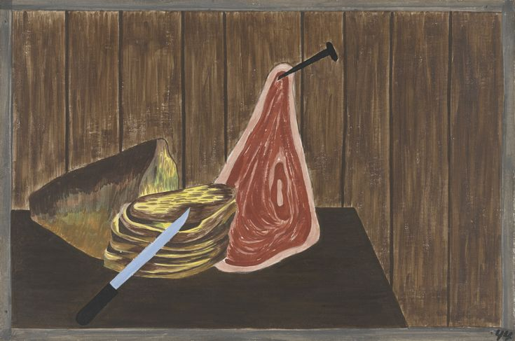 Jacob Lawrence: Living conditions were better in the North (1940-41)