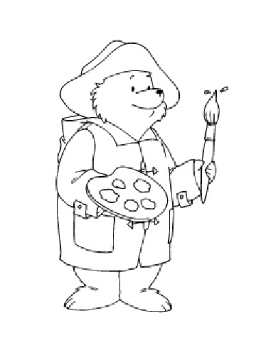 41 best images about beertje paddington on pinterest for Zelf coloring pages