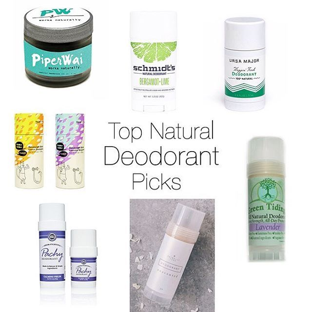 It's finally here my Top Natural Deodorant Picks! I've got ...