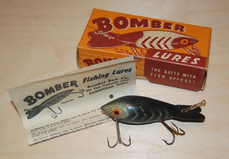 Bomber lure with box