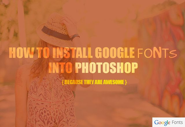 Adding fonts to photoshop cc