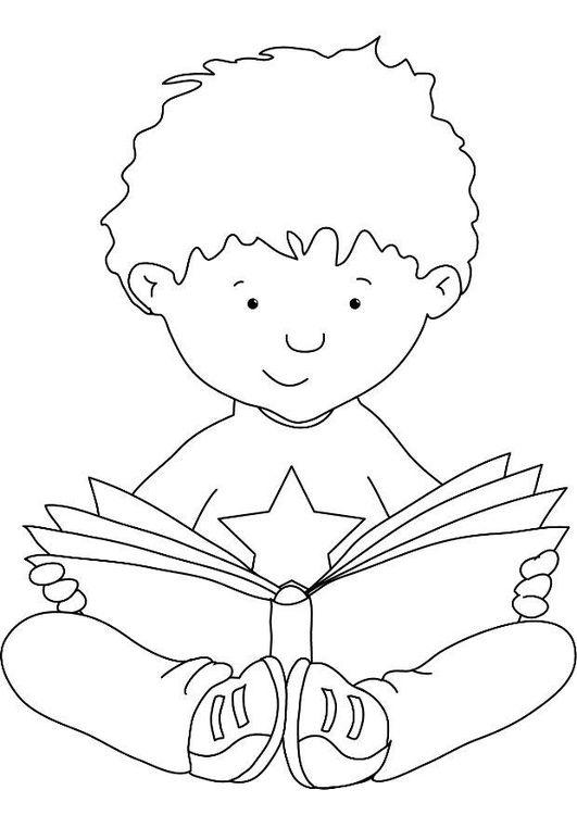 Disegno da colorare leggere