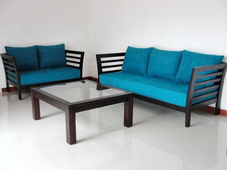 Small Sectional Sofa wooden Sofa set