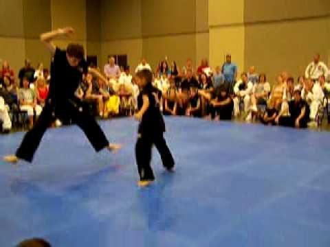 Simple XMA Extreme Martial Arts form - Basic routine with easy moves - use it to get some ideas for teaching a beginners XMA routine.