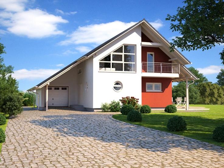 Musterhaus modern satteldach  27 besten Hausfassade Bilder auf Pinterest | Hausfassade ...