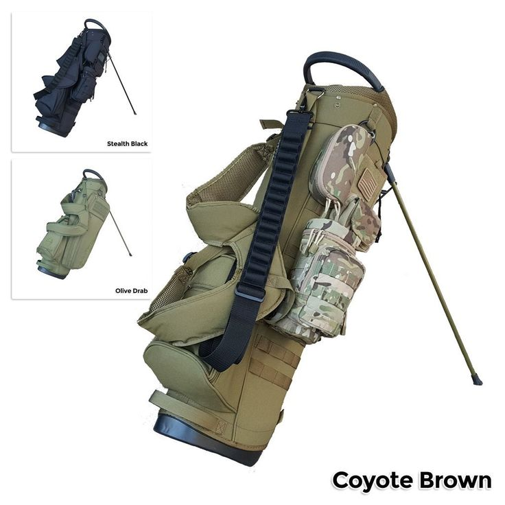 BAMF Golf Bag: Expeditionary Mode-Tactical-Retirement-Military-Police-Gift-Carry-Stand-Cart-Ping-Titleist-Golf Bag - 1