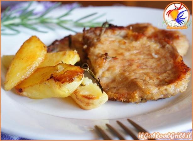 » Braciole di maiale al forno con patate