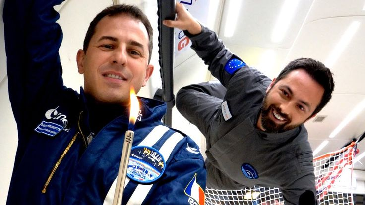 In a zero-g plane I experimented with flames and slinkies with surprising results. Check out e-penser's video: http://ve42.co/EPzeroG Check out Physicsgirl's...