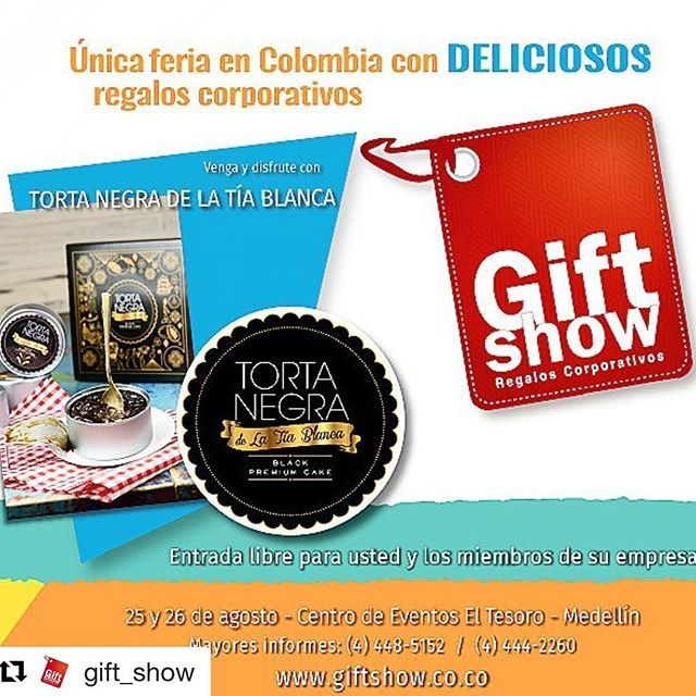 Acompáñanos  @gift_show ・・・ No se pierda la oportunidad de conocer a…