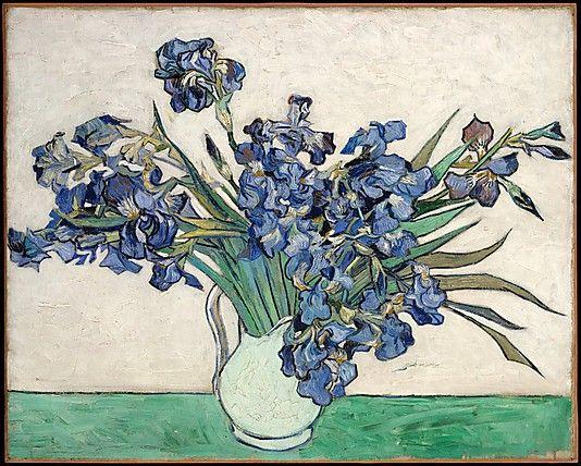 Vincent van Gogh (Dutch,1853–1890). Irises, 1890. The Metropolitan Museum of Art, New York. Gift of Adele R. Levy, 1958 (58.187) #iris #flower