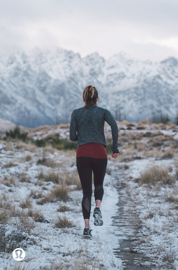 Go on, get out there. Run, if you have to.