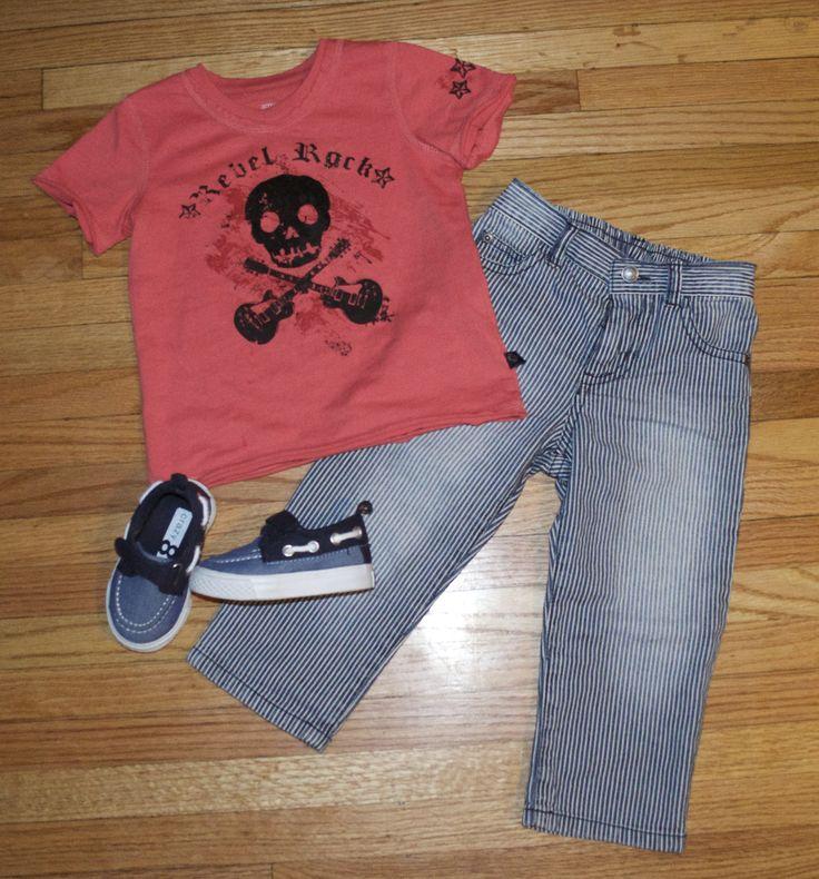 Summer Kids Fashion Boy Style Boy Outfit