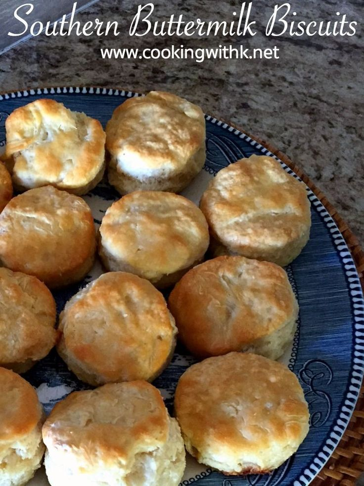 Southern Buttermilk Biscuits, tender, flaky biscuits made from scratch with a secret to making them tall and fluffy.   These southern buttermilk biscuits are easy to make and  perfect for any meal of the day!