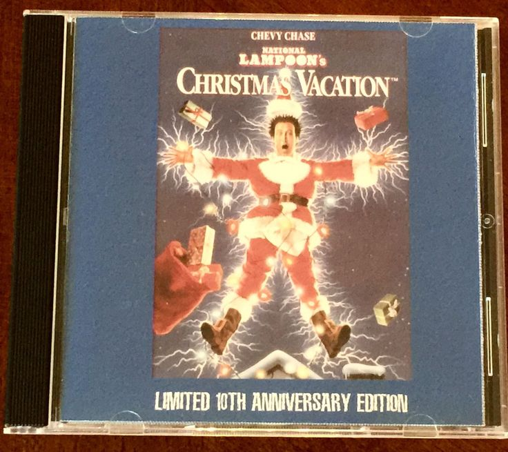 National Lampoon CHRISTMAS VACATION Soundtrack CD - Rare!