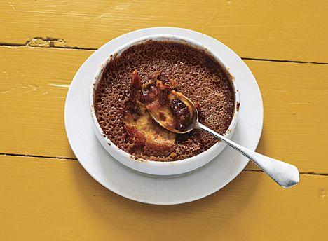 pumpkin + brown sugar crème brûlée • bon appétit