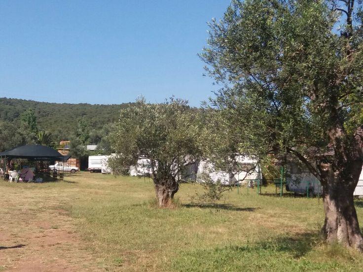 Cunda karavan kampı