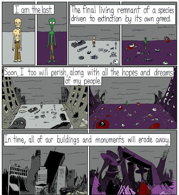 In this comic by Ethan Vincent from Oppressive-Silence, the artist takes a look at the last remnant for two distant civilization, both located in a different part of our galaxy. Check it out: And this is why we might never encounter intelligent alien life in our lifetime, or even, in the whole existence of our …