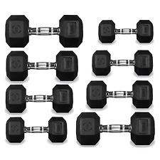 Hex Dumbbells Hexagonal Rubber Encased Ergo Weights Sets Gym Set Fitness Weight  Hex Dumbbells Hexagonal Rubber Encased Ergo Weights Sets Gym Set Fitness Weight   Price: GBP 22.99