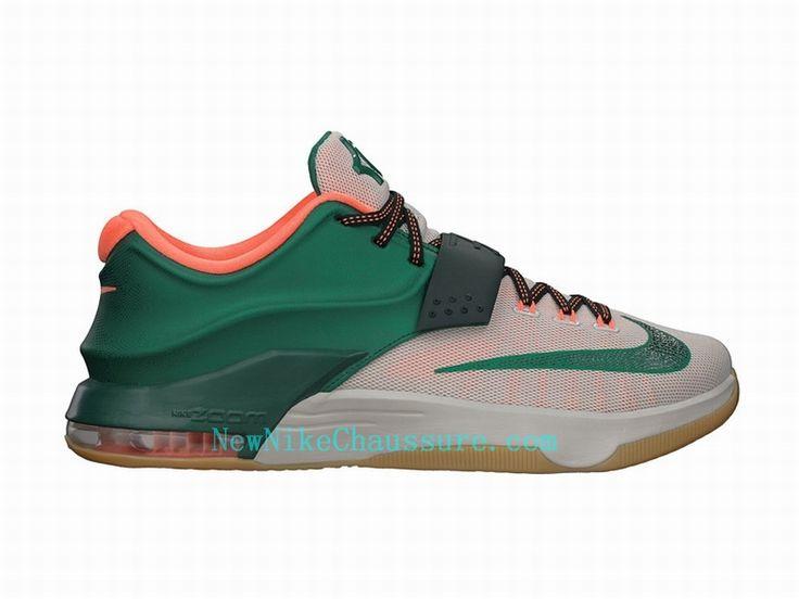 Nike KD 7 Easy Money - Chaussure De Basket-ball pour Homme Pas Cher Blanc