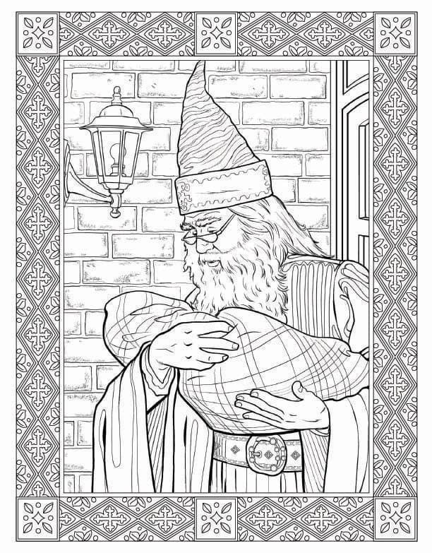 For Everyone Who Cant Get Enough Of The Wizarding World Have No Fear Scholastic Is Publishing Harry Potter Coloring Book Kids Love