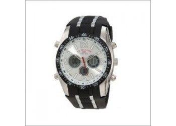 Reloj U.S. Polo Assn. R11002 Deportivo negro $125.000