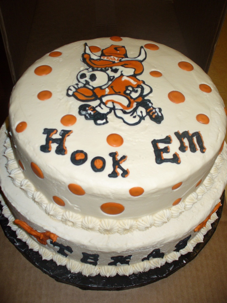 Longhorn Cake Pops