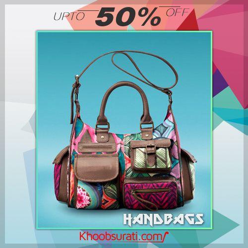 #Online_Shopping #Shopping_Online @ khoobsurati.com Get Upto 50% Off On #Stylish_Handbags http://khoobsurati.com/women/bags/hand-bags