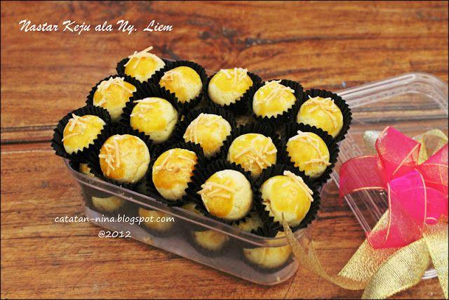 Nastar Keju Ala Ny Liem Catatan Nina Aneka Resep Masakan Rumah Menjadi Terlihat Mewah Kue Kering Nastar Kue