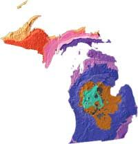 """What does Michigan mean? The name Michigan is based on the Chippewa Indian word """"meicigama"""" meaning great water, and refers to the Great Lake. Thirty-two counties in Michigan also have names drawn from Native American languages."""