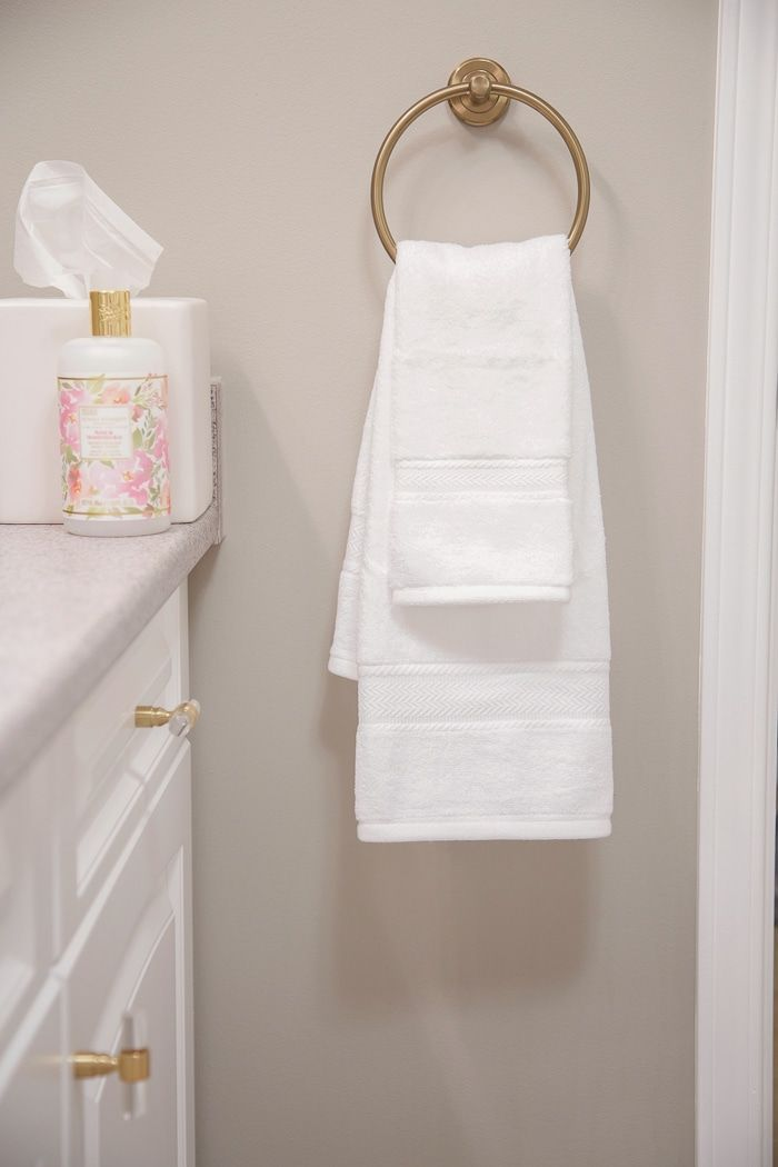Easy Spring Bathroom Refresh Bath Towel Giveaway With Images