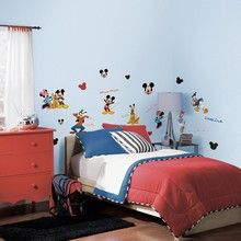 Wall stickers Mickey & venner