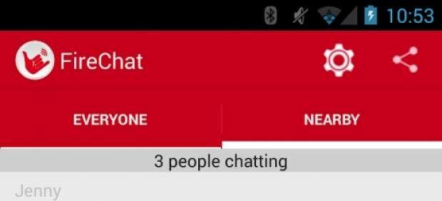 FireChat, Un Rival De WhatsApp Que Funciona Sin Conexión A Internet Ni Redes De Telefonía