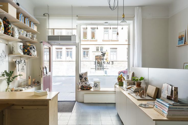 Our combined studio & shop in SoFo neighborhood of Södermalm in Stockholm, Sweden.   Shot by photographer Mikael Axelsson.