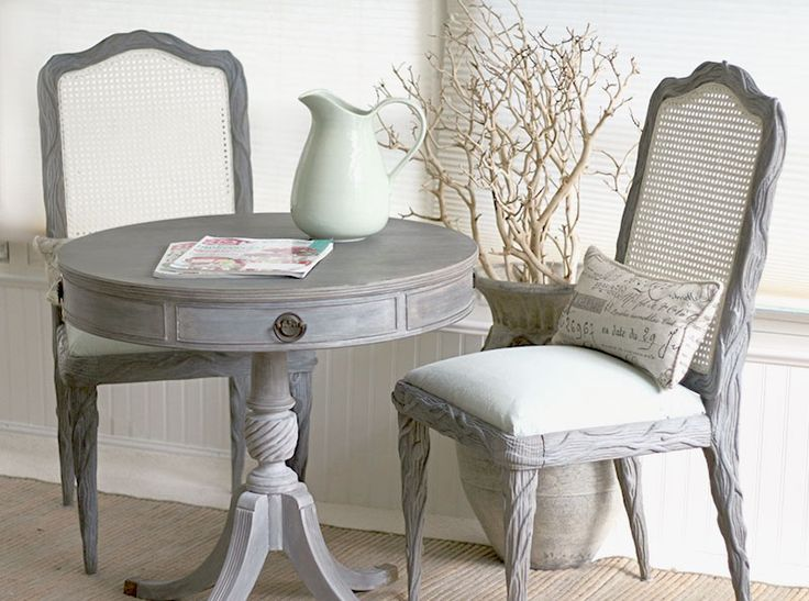 ... With Driftwood Weathering Wood Finish, Driftwood Weathering Wax And  Driftwood Liming Wax Chair Covers Painted With Poets Paint Vintage Silk  Blue.
