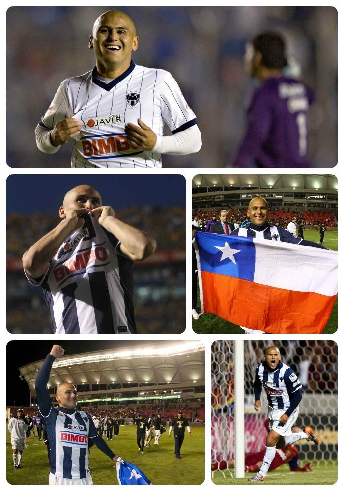 Felicidades a Humberto Suazo por los 5 años de su debut ¡Orgullo de Rayados!