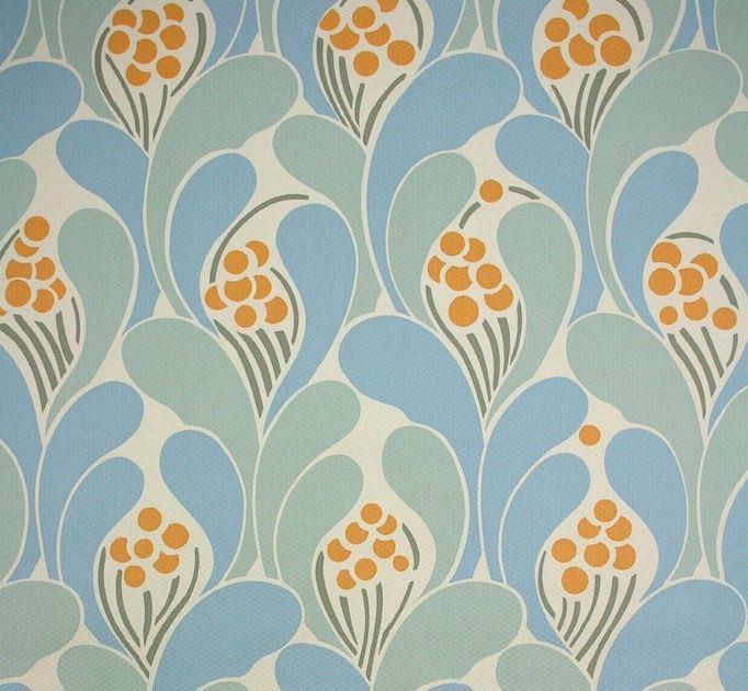 Geometric retro wallpaper - Vintage Wallpapers Papiers peints vintage - papier peint vintage sur Pasfollelabeille Papier peint vintage pour ...