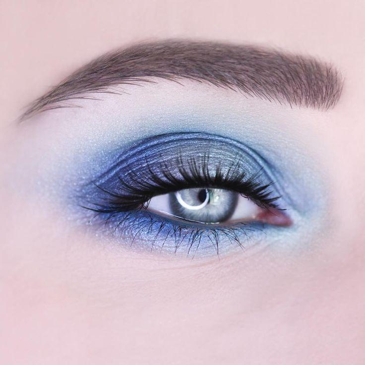 """BLUE LAGOON 🏝 Eyeshadow- Makeup Revolution """"Mermaids vs Unicorns"""" Waterline- CATEICE Longlasting Eye Pencil """"Rendez-blue"""" 110"""